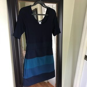 Dresses & Skirts - Blue stretchy mini dress